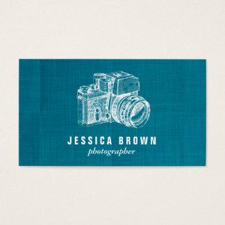 Cartão de visita profissional do fotógrafo do
