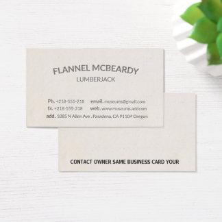 Cartão de visita profissional moderno da