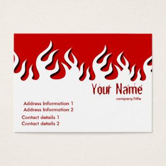 Cartão de visita quente de Flamazee