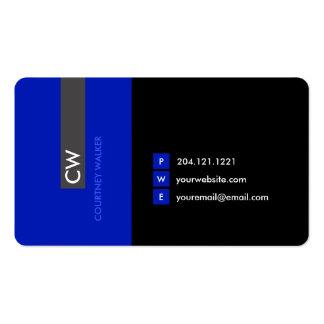 Cartão de visita relativo à promoção original,