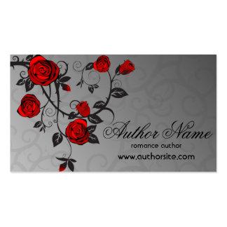 Cartão de visita romance do autor