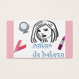 cartão de visita salão de beleza