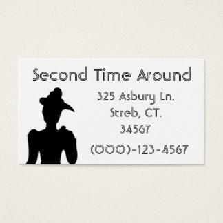 Cartão de visita Sample1 da remessa