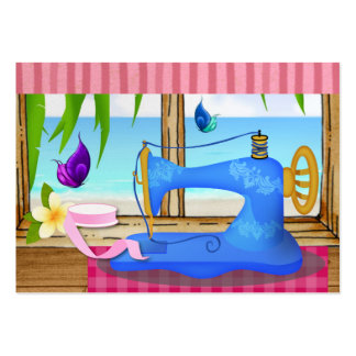Cartão de visita Sewing