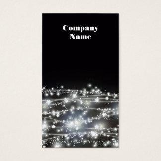 Cartão de visita Sparkling das estrelas
