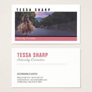 Cartão de visita sua arte feita sob encomenda do