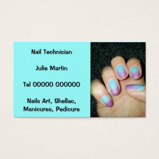 Cartão de visita - técnico do prego