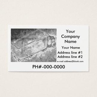 """Cartão de visita """"Van seco """""""