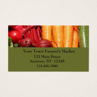 Cartão de visita vegetal da beira