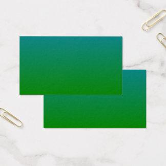cartão de visita verde do pântano
