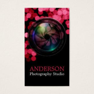 Cartão de visita vertical a do fotógrafo