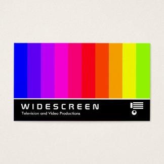 Cartão De Visitas 176 Widescreen - Bares de cor
