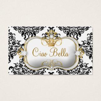 Cartão De Visitas 311 Ciao Bella & damasco bonito de Dovey