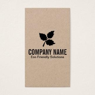 Cartão De Visitas 3 folha | Eco 2 amigáveis