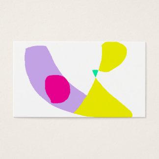 Cartão De Visitas A banana roxa