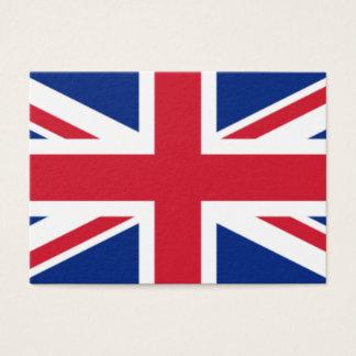 Cartão De Visitas A bandeira do Reino Unido