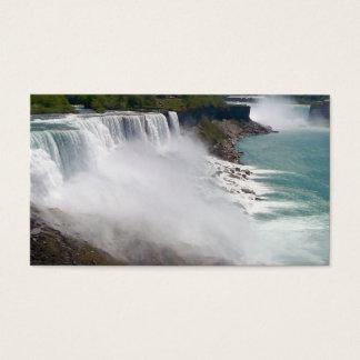Cartão De Visitas A cachoeira cria seus próprios