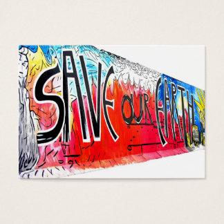 Cartão De Visitas A galeria da zona leste, muro de Berlim, salvar