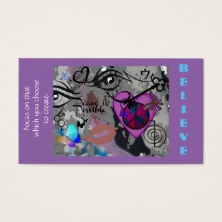 Cartão De Visitas A paz é design possível