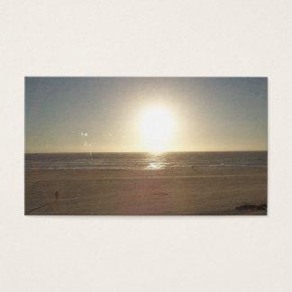 Cartão De Visitas A praia é meu negócio
