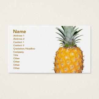 Cartão De Visitas Abacaxi tropical