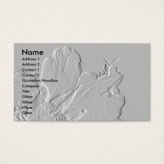 Cartão De Visitas Abelha no design das pétalas da flor