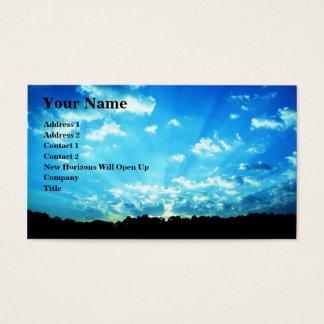 Cartão De Visitas Abra horizontes