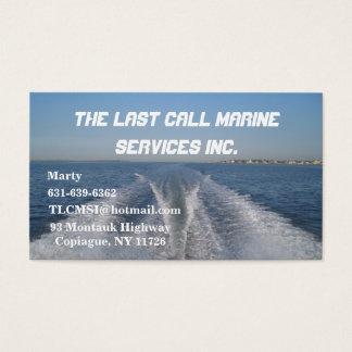 Cartão De Visitas Acordar do barco