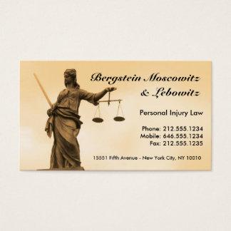 Cartão De Visitas Advogado CUSTOMIZÁVEL BC