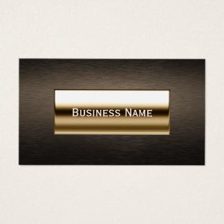 Cartão De Visitas Advogado da etiqueta do ouro/cartão de visita