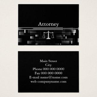 Cartão De Visitas Advogado profissional