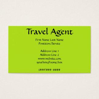 Cartão De Visitas Agente de viagens