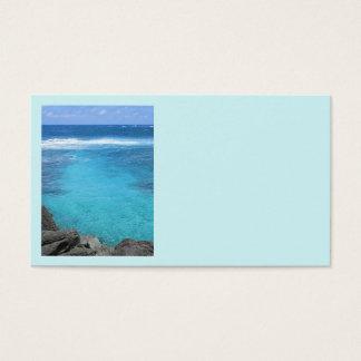 Cartão De Visitas Águas havaianas