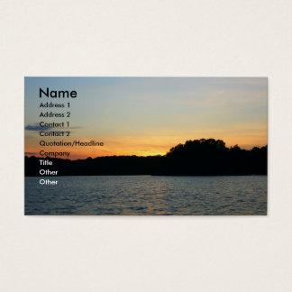 Cartão De Visitas Ajuste Sun