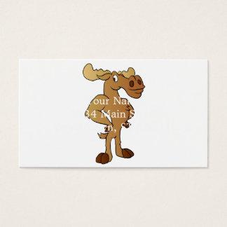 Cartão De Visitas Alces engraçados