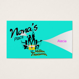 Cartão De Visitas Alecia - Nona's Place w/Hidden Treasures