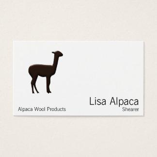 Cartão De Visitas Alpaca