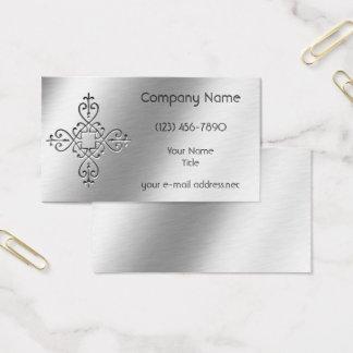 Cartão De Visitas Alumínio gravado