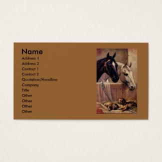 Cartão De Visitas Amigos