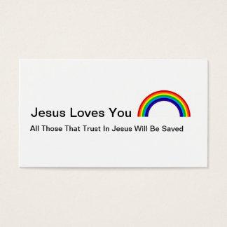 Cartão De Visitas Amor de Jesus