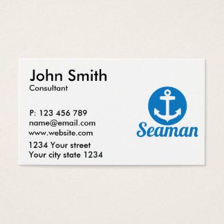 Cartão De Visitas Âncora do marinheiro