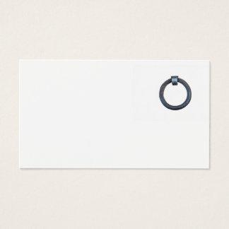 Cartão De Visitas anel da amarração no porto