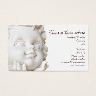 Cartão De Visitas Anjo branco