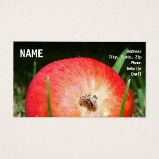 Cartão De Visitas Apple frutifica