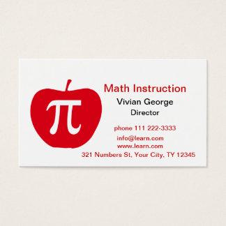 Cartão De Visitas Apple Pi
