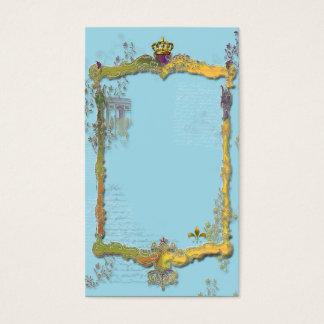 Cartão De Visitas Arco do Triunfo e coroa
