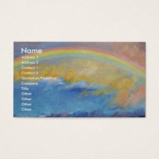 Cartão De Visitas Arco-íris