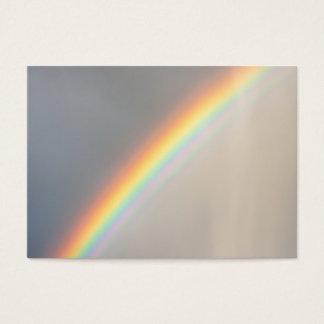 Cartão De Visitas Arco-íris na chuva