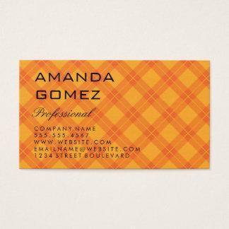 Cartão De Visitas Argyle