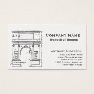 Cartão De Visitas Arquitetura e construcction